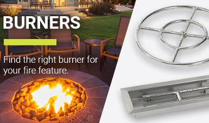 Burners For FirePits (American Fire Glass) at Orange County BBQ & Fireplace