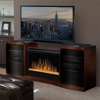 Large Dimplex fireplace