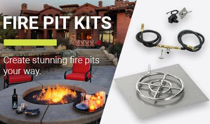 Fire Pit Kits & Remote Systems (American Fire Glass) at Orange County BBQ & Fireplace