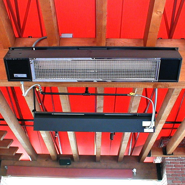 suspended sunpak gas heaters